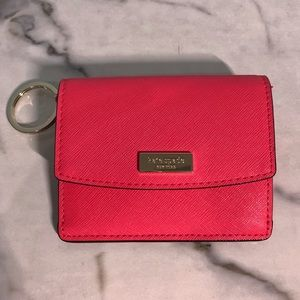 NWOT Kate Spade Key Chain Wallet 🌶